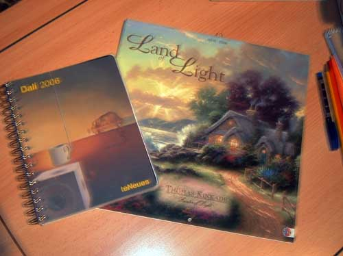 Dali 2006 Planer/Kalender, Land of Light Kalender